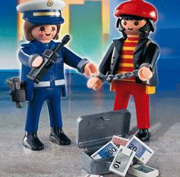 Playmobil robber